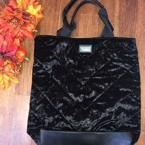 Victoria Secret Velvet Large Tote Bag